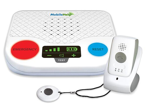MobileHelp Duo medical alert system product image.