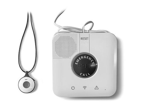 MobileHelp Wired medical alert system product image.
