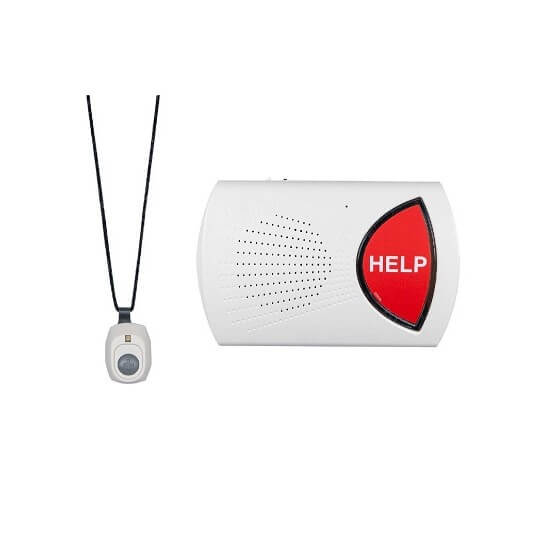 An in-home medical alert system by Bay Alarm Medical.